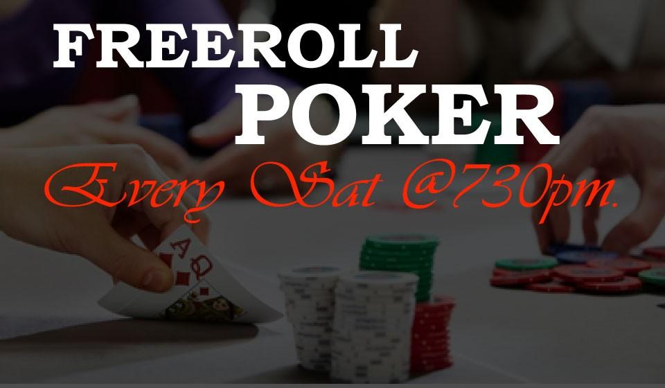 Online poker with best freerolls