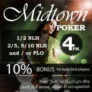Poker at Midtown
