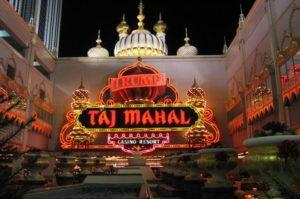 Trump Taj Mahal Casino Closes