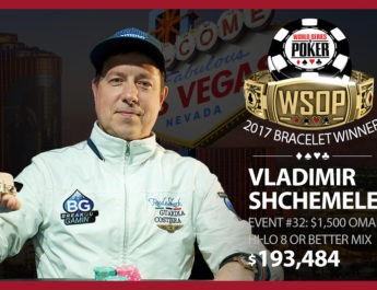 Vladimir Shchemelev Wins 2017 World Series of Poker