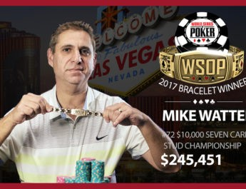 Mike Wattel Denies Chris Ferguson, Wins Second Career World Series of Poker Bracelet