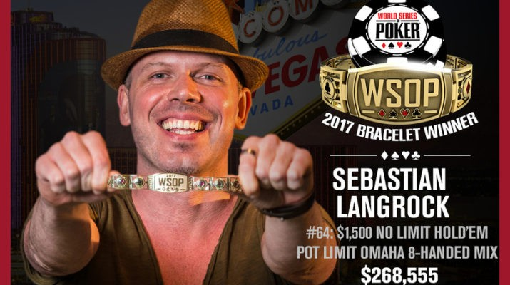 Sebastian Langrock Wins 2017 World Series of Poker $1,500 NLHE/PLO Event