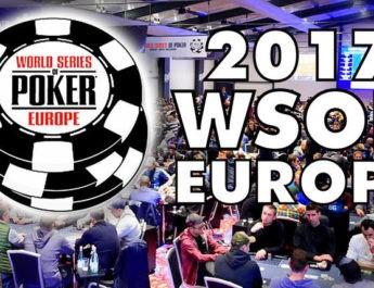 2017 World Series of Poker Europe Main Event Winner Now Guaranteed €1,000,000