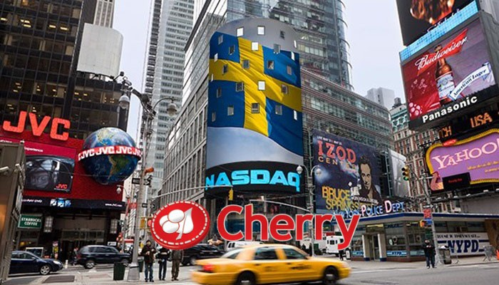 Cherry AB gains approval for Nasdaq Stockholm listing