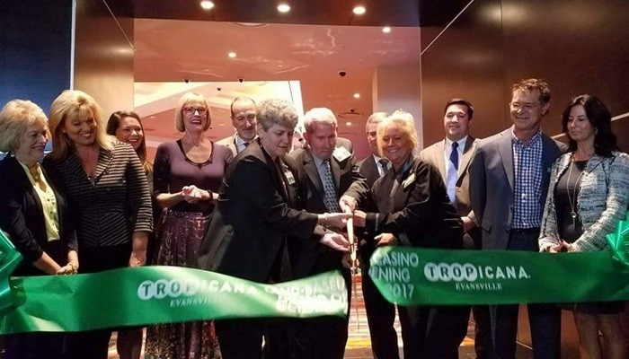 Tropicana Evansville hosts Grand Opening of new land-based casino