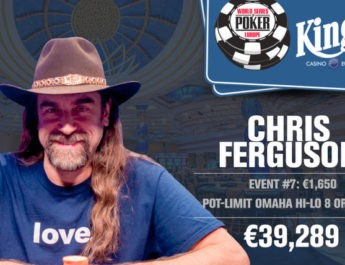 Chris Ferguson Wins 2017 World Series of Poker Europe €1,650 Pot-Limit Omaha Eight-or-Better Event