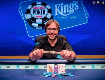 Spanish Poker Pro Defeats Field of 529 To Win The First Ever WSOPE Held In The Czech Republic