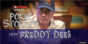PODCAST: Poker Stories With Freddy Deeb