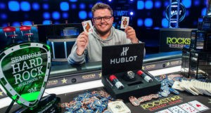 Scott Margereson Wins 2018 World Poker Tour Seminole Hard Rock Poker Showdown