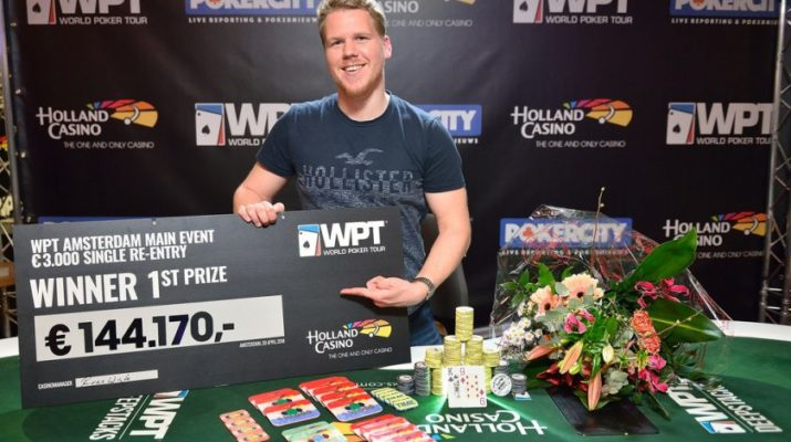 Rens Feenstra Plays For The Wpt Amsterdam Double Dutch