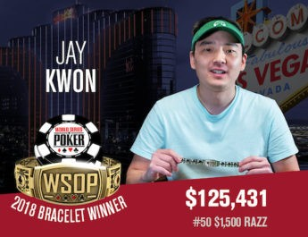 Jay Kwon Denies Dzmitry Urbanovich First World Series of Poker Bracelet In $1,500 Razz Event