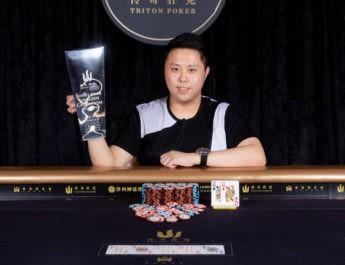 Kenneth Kee Wins 2018 Triton Poker Super High Roller Series Jeju $1,000,000 HKD Short Deck Event