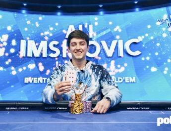 Ali Imsirovic Wins U.S. Poker Open $10,000 No-Limit Hold'em High Roller For His Sixth Title of 2021